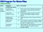 ipm program for shore flies3