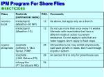 ipm program for shore flies4