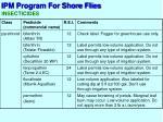 ipm program for shore flies5