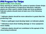 ipm program for thrips10