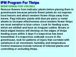 ipm program for thrips12