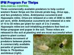 ipm program for thrips4