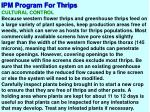 ipm program for thrips5
