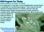 ipm program for thrips7
