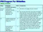 ipm program for whiteflies8