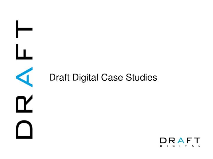 draft digital case studies n.