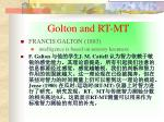 golton and rt mt
