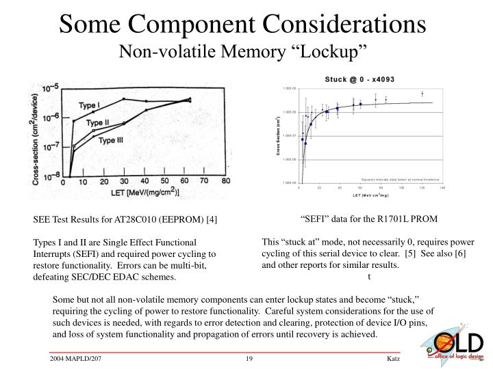 Some Component Considerations