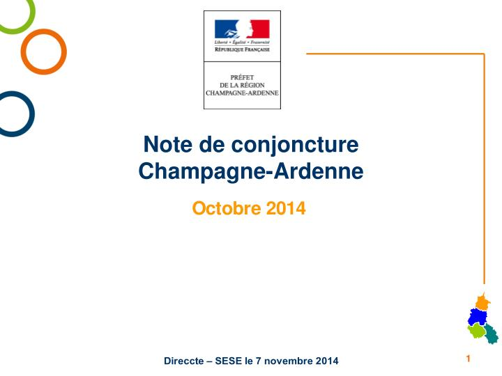 note de conjoncture champagne ardenne n.