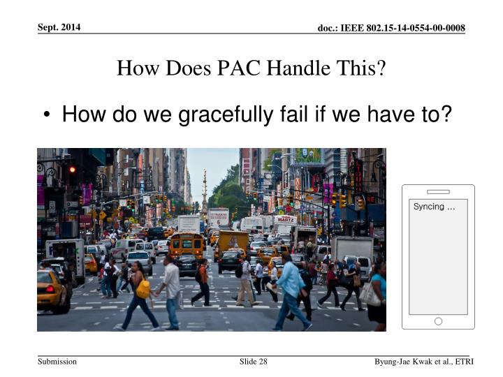 How Does PAC Handle This?