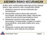 asesmen risiko kecurangan