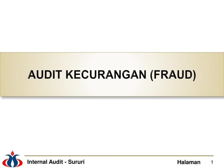 audit kecurangan fraud n.