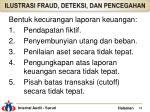 ilustrasi fraud deteksi dan pencegahan