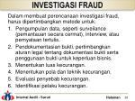 investigasi fraud