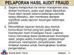 pelaporan hasil audit fraud2