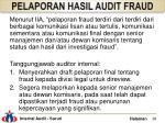 pelaporan hasil audit fraud3