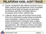 pelaporan hasil audit fraud4