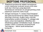 skeptisme profesional