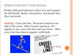 strengthening your shield