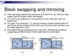 block swapping and mirroring2