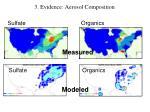 3 evidence aerosol composition