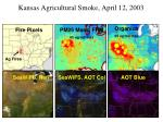 kansas agricultural smoke april 12 2003