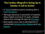 the cardiac allograft is going up in smoke a call to action