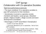 chf igunga collaboration with co operative societies1