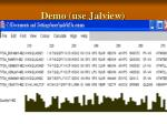 demo use j alview