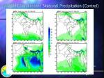 hadrm2 simulations seasonal precipitation control