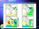 hadrm2 simulations seasonal precipitation ghg control