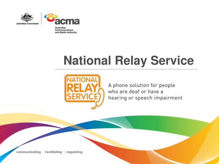 national relay service n.