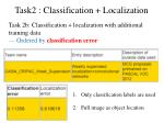 task2 classification localization