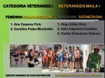 categoria veteranos i beteranoen maila i