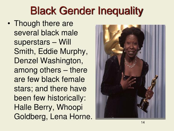 Black Gender Inequality