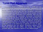 tomis port aquarium