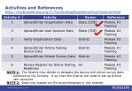 activities and references http techreadiness org t technologyreadinesstool launch html
