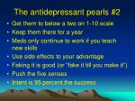 the antidepressant pearls 2