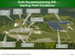 draft decommissioning eis starting point conditions