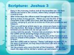 scripture joshua 3