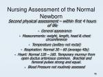 nursing assessment of the normal newborn2