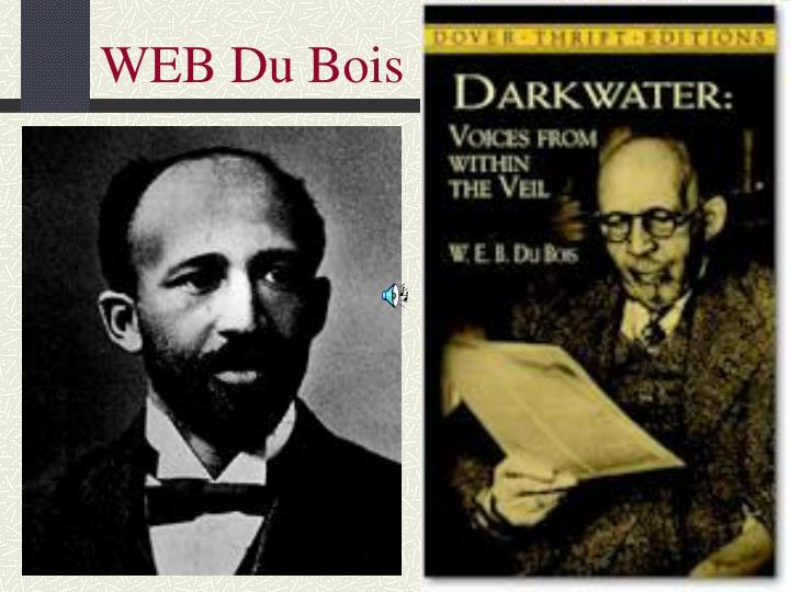 a history of the african americans and the rivalry between web dubois and booker t washington When other african americans threatened his power by asking him to what are some similarities between booker t washington and web web dubois was the.