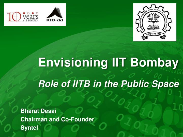 envisioning iit bombay role of iitb in the public space n.