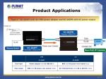 product applications1