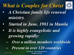 what is couples for christ