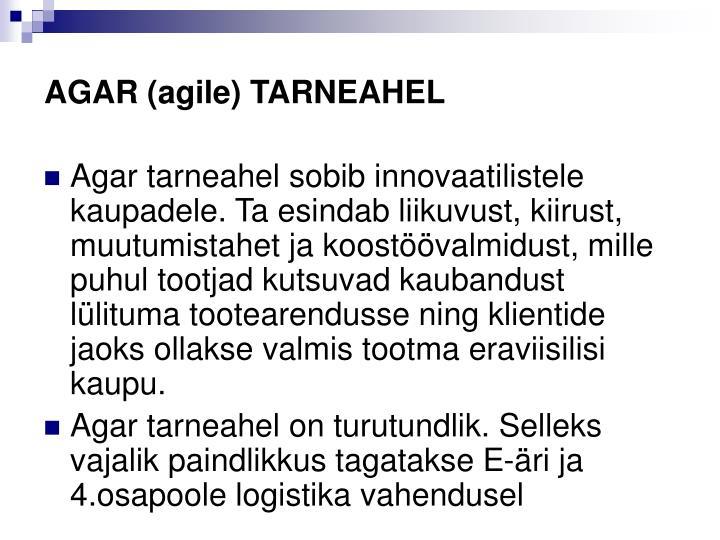 AGAR (agile) TARNEAHEL