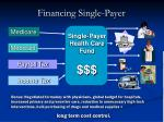financing single payer