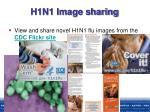 h1n1 image sharing