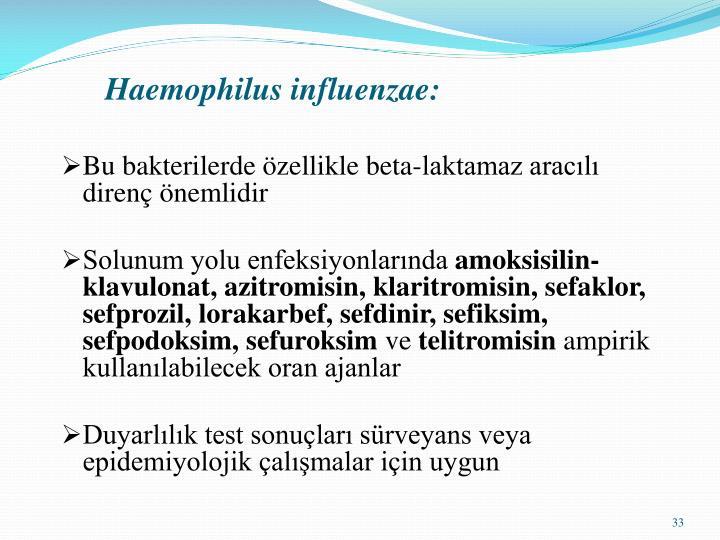 Haemophilus influenzae: