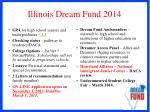 illinois dream fund 2014